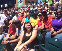 Y team at the ballgame!